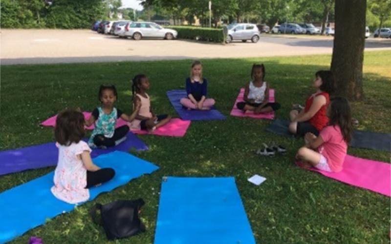 Munkevængets Skole - mindfulness